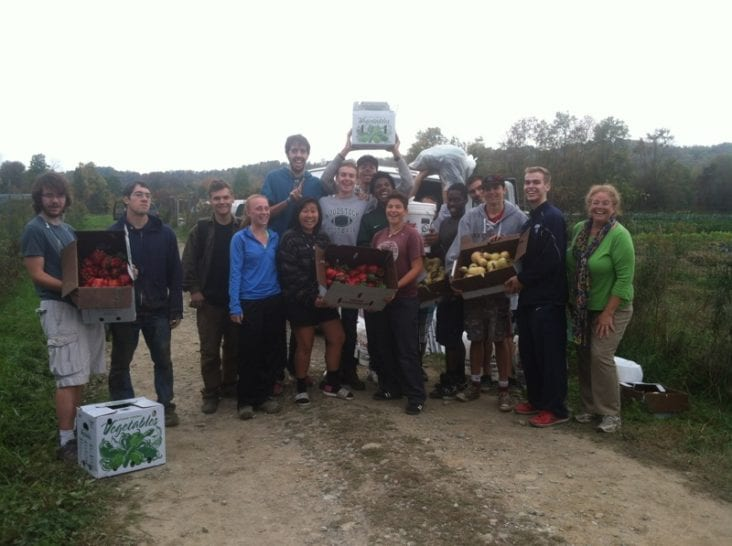 Rutland Area Farm and Food Link Glean Team. Courtesy of the Rutland Area Farm and Food Link Glean Team.