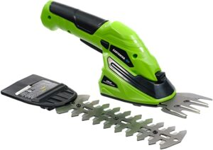 Earthwise Cordless Rechargeable 2-in-1 Shrub Shear