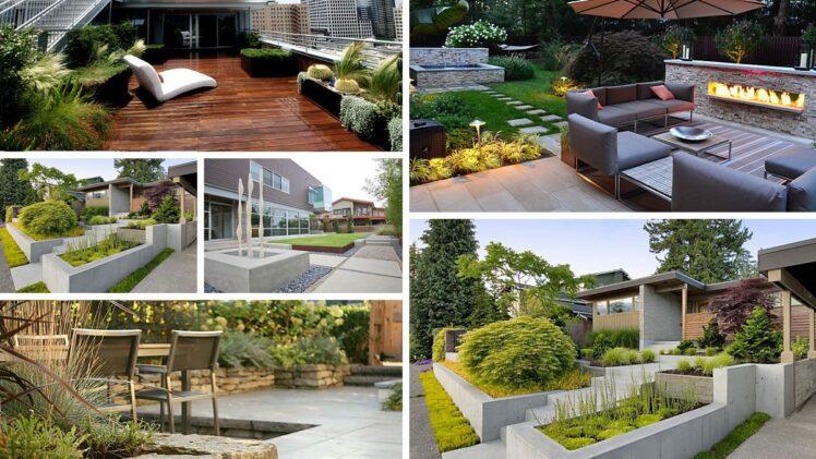 5 Landscape Design Ideas For A Modern Backyard In 2020 Growing